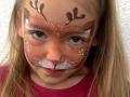 Kinderschminken Rentier